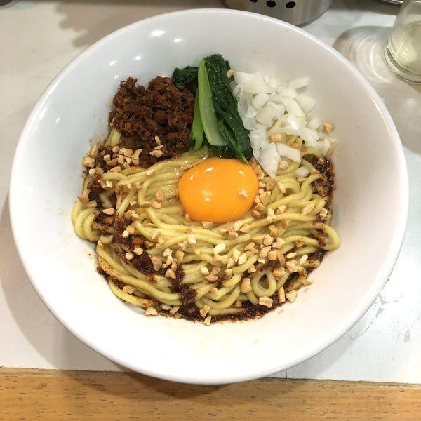「【気まぐれ限定】SENの担々アブラそば1号」@麺屋 扇 SENの写真