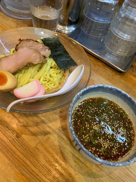 「流星つけ麺1000円」@流星軒の写真
