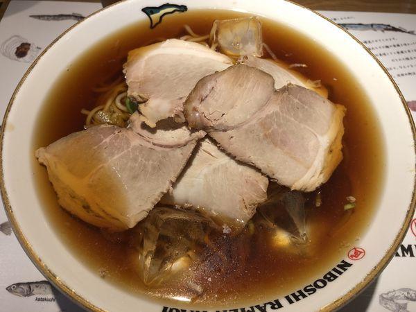 「冷やし煮干しそば 大盛」@すごい煮干ラーメン凪 田町店の写真