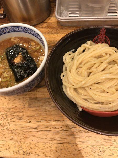「背脂つけ麺(860円)」@つけ麺専門店 三田製麺所 有楽町店の写真