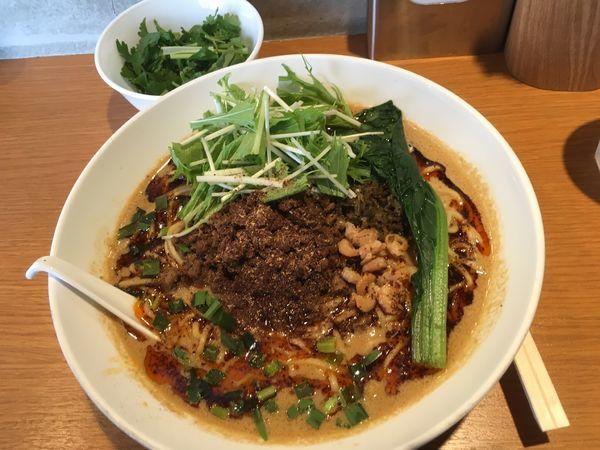 「汁あり担々麺」@汁なし担担麺 ピリリ 神田店の写真