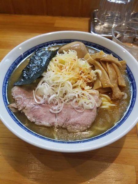 「塩ラーメン(並)¥950+味玉¥50」@自家製中華そば としおかの写真