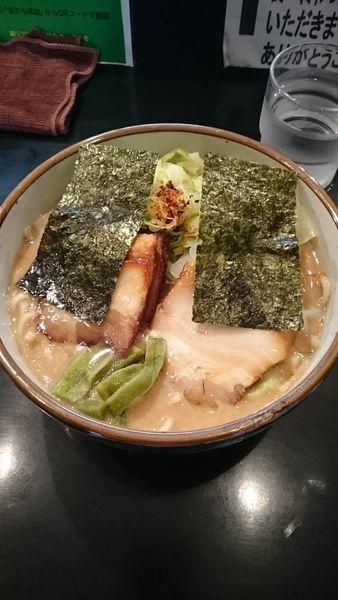 「特濃(ハード)」@麺家 うえだの写真
