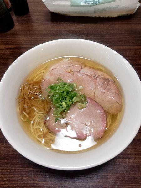 「塩ラーメン 680円」@かしわぎの写真