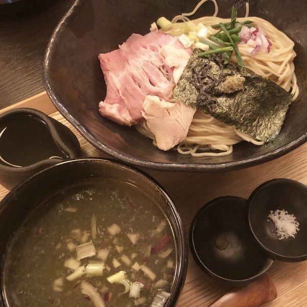 「昆布水つけ麺(塩)」@つけ麺 山崎の写真