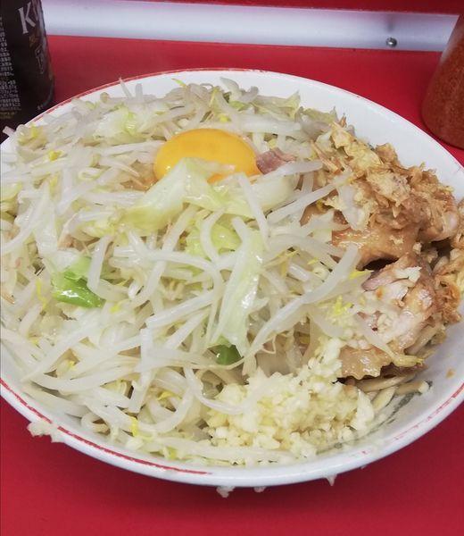 「小豚汁なし野菜ニンニク」@ラーメン二郎 湘南藤沢店の写真