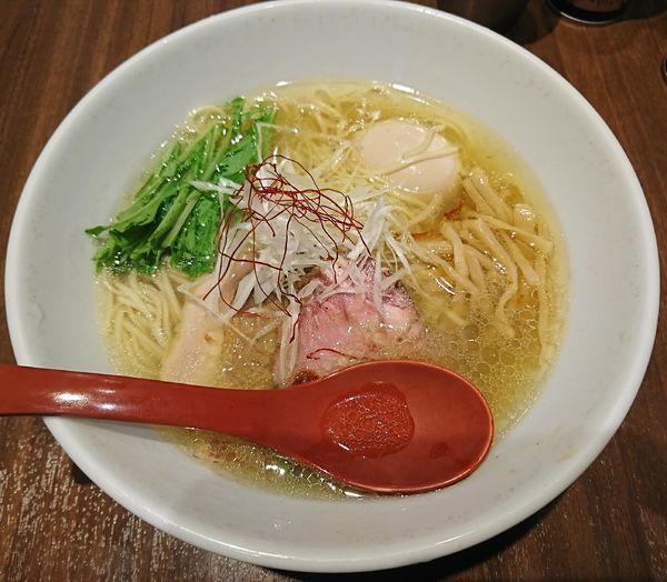 「特製塩ラーメン(1000円)」@麺屋 翔 品川店の写真