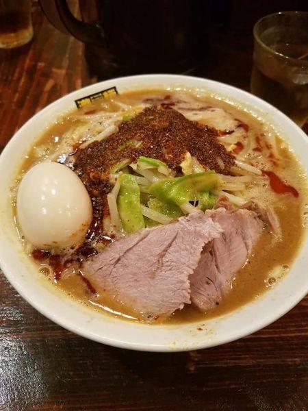 「辛辛濃菜麺¥880+味玉¥100」@濃菜麺 井の庄の写真