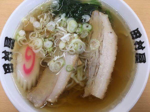 「ラーメン 660円」@田村屋の写真