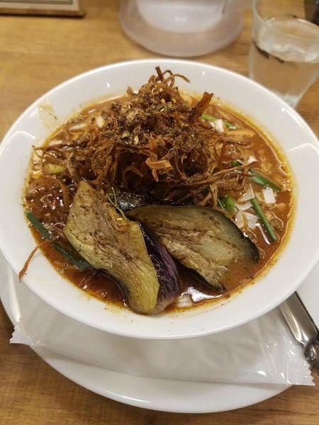 「ぶどう山椒の麻婆麺¥980」@箸とレンゲの写真
