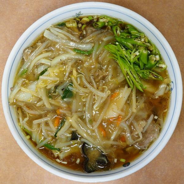 「サンマー麺、大盛、青唐辛子」@中華 タンタンメン 隆翔の写真