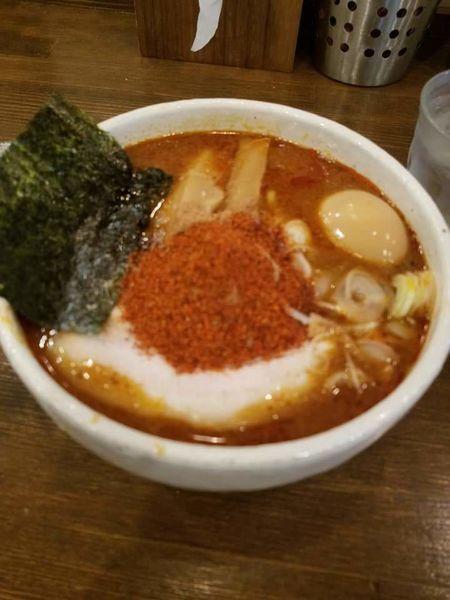 「辛辛魚味玉らーめん¥980」@麺処 井の庄の写真
