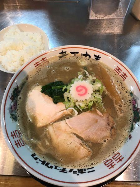 「濁り煮干しソバ」@津軽煮干中華蕎麦 サムライブギーの写真