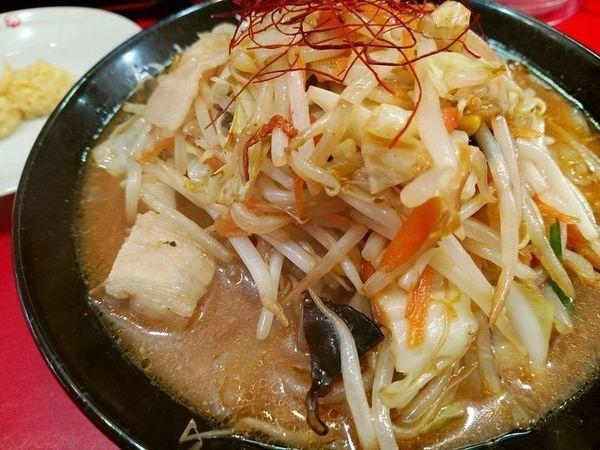 「味噌タンメン」@濃厚タンメン かめしげの写真