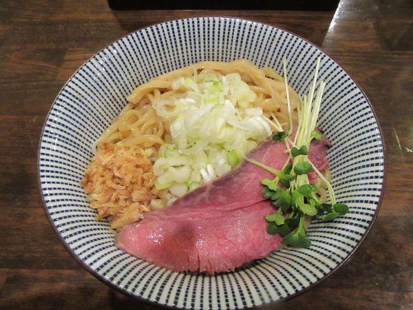 「常陸牛油そば(950円)」@活龍 期間限定麺処 みつきの写真