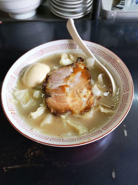 「五香ラーメン(味玉追加)」@13湯麺の写真