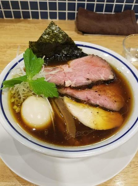 「特製中華そば(醤油)¥1030」@手打式 超多加水麺 ののくらの写真