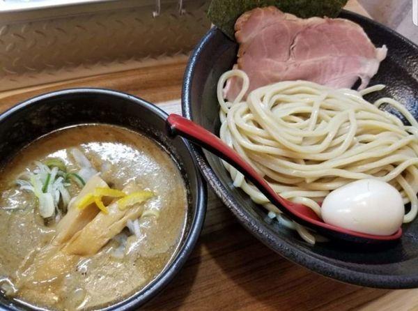 「つけ麺¥800+味玉¥100+特製辛味¥50」@麺屋きころく 練馬氷川台店の写真