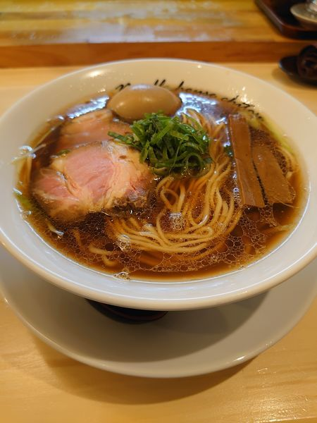 「醤油ラーメン」@麺庵ちとせの写真