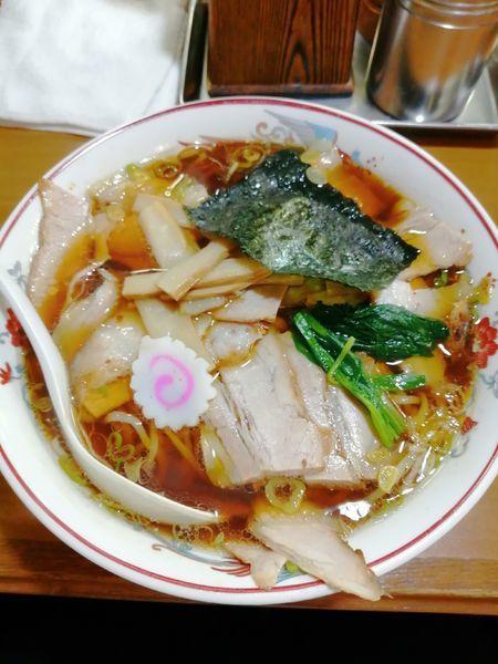 「チャーシュー麺 大盛」@青島ラーメン司菜の写真