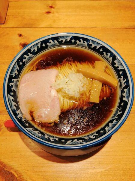「醤油ラーメン」@麺屋 坂本01 新潟駅前店の写真
