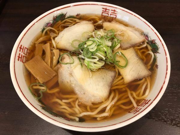 「醤油らーめん 中  600円」@まるかいの写真