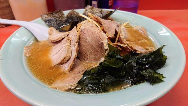 「ネギチャーシューラーメン 麺かため」@ラーメン関口の写真