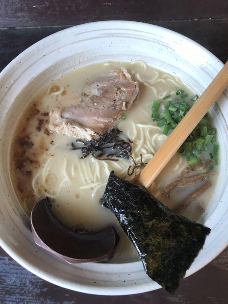「鶏そば+替玉(¥770)」@鶏そばや 竜神洞の写真