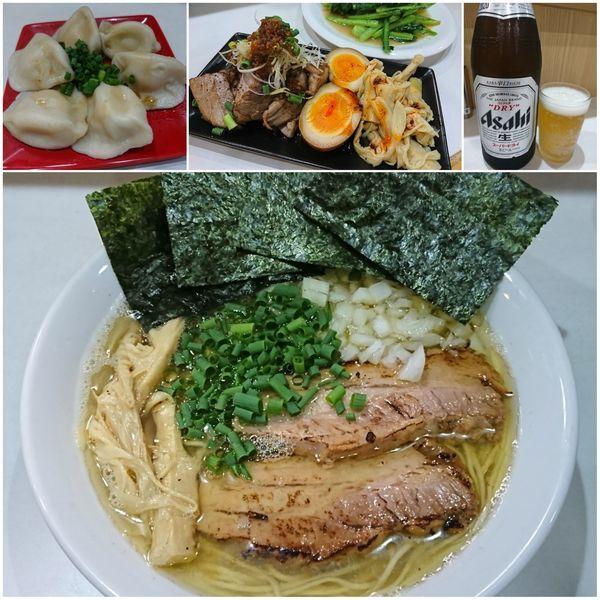 「煮干らーめん ¥750」@麺屋 扇 SENの写真