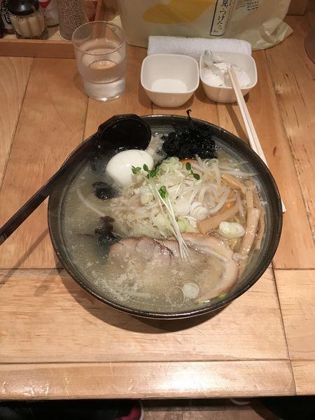 「塩ラーメン」@白樺山荘 北海道ラーメン道場店の写真