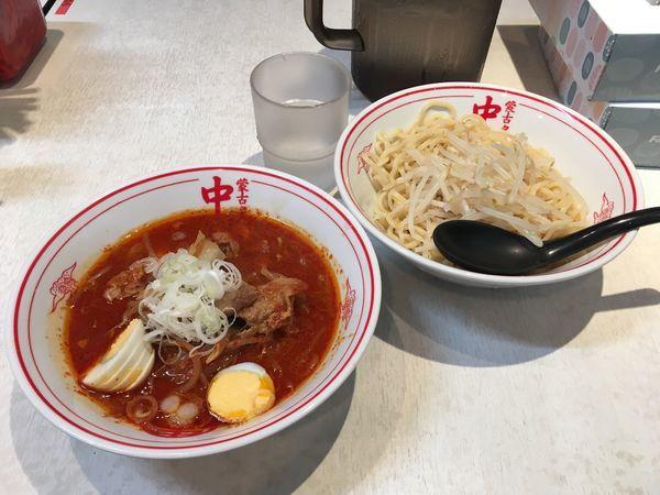 「冷し五目味噌タンメン」@蒙古タンメン中本 品川店の写真
