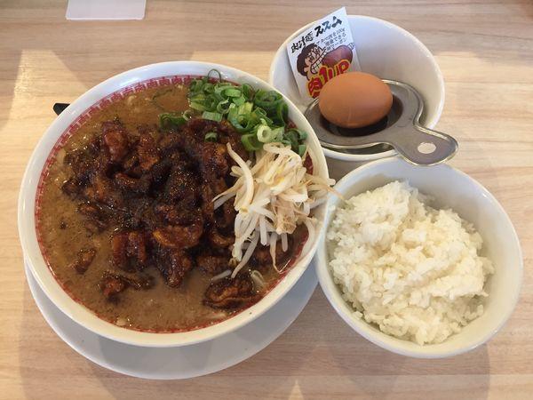 「肉汁麺レベル3 (肉300g)」@肉汁麺ススム 秋葉原本店の写真