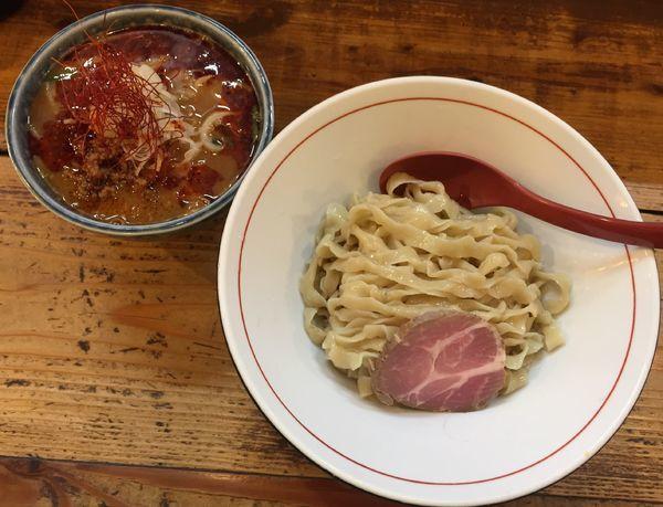 「辛味噌つけ麺900円他」@東京味噌らーめん 鶉の写真
