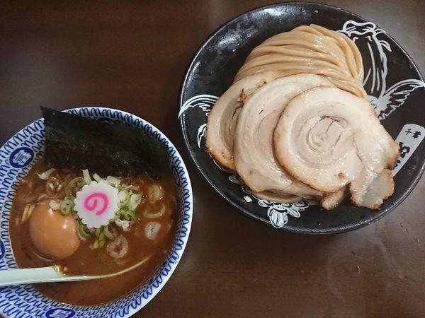 「特製濃厚つけ麺」@東池袋大勝軒 ROZEOの写真