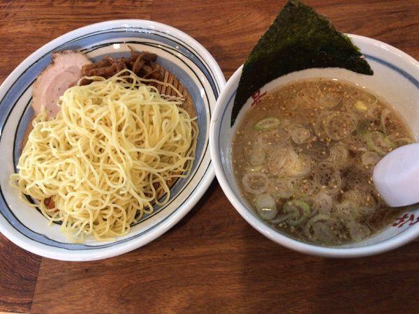 「正油つけ麺」@めんや大喜の写真