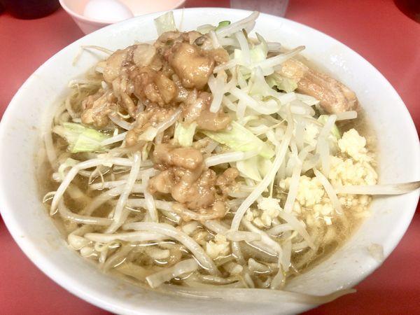 「乳化良く・豚の旨味満載二郎」@ラーメン二郎 桜台駅前店の写真