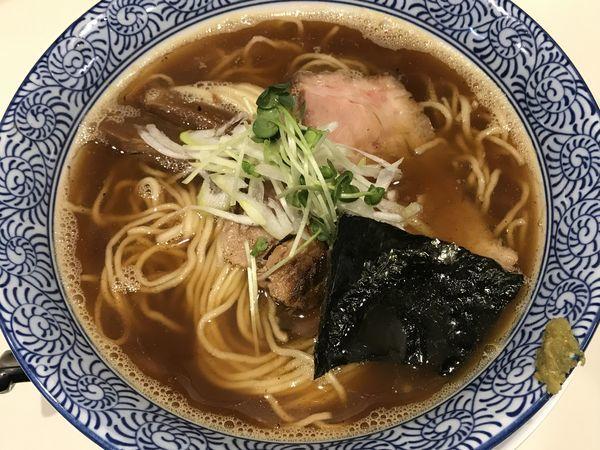 「追い煮干し中華」@らぁ麺や 一晃亭の写真