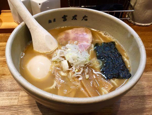 「味玉らーめん」@麺屋吉左右の写真