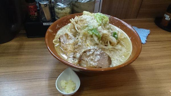 「まるそば・麺100g×2(全増し)¥1000」@麺家ひまりの写真