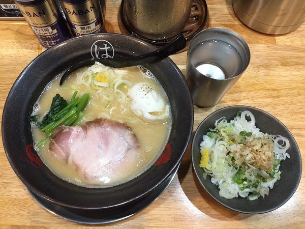 「真鯛らーめん(塩)〆ご飯セット」@ウミのチカラの写真