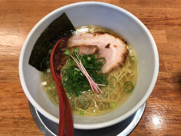 「燕ラーメン塩」@麺屋 燕の写真
