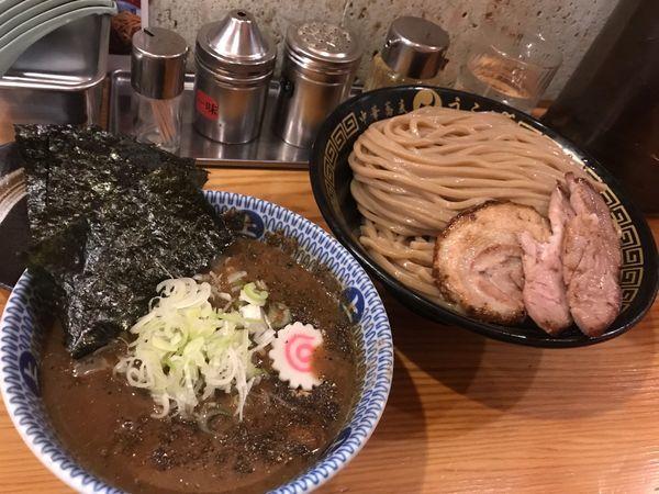 「つけ麺(特)+のり(5枚)」@中華蕎麦うゑずの写真
