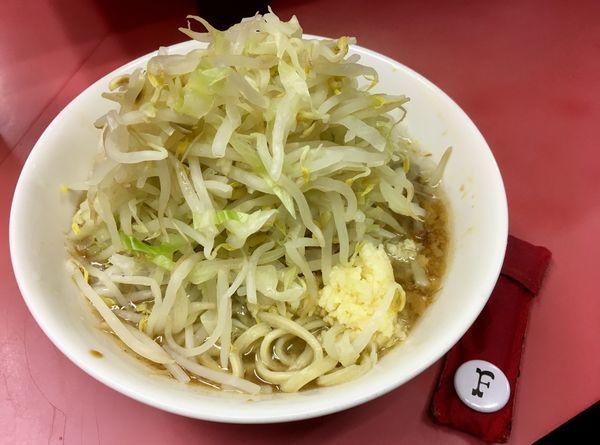 「少なめ」@ラーメン二郎 ひばりヶ丘駅前店の写真