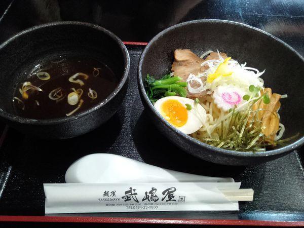 「冷やし和風つけ麺800円」@麺屋 武嶋屋の写真