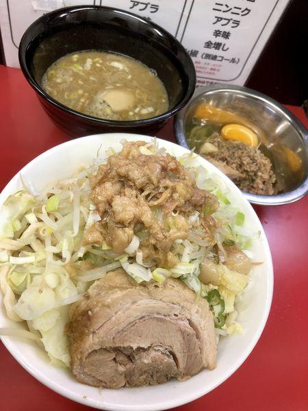 「つけ麺 大 ¥950+ブタたまみそ¥100」@ラーメン一心の写真