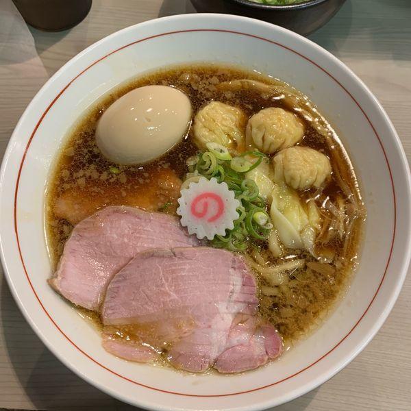 「特中華そば1000円。」@横浜中華そば 維新商店の写真