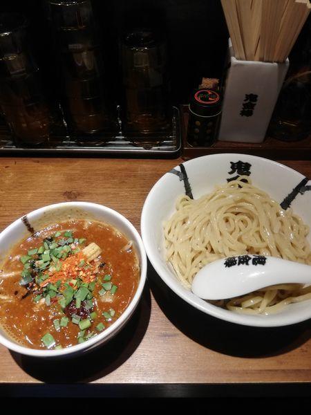 「からビシつけ麺 中盛り400グラム 900円」@カラシビつけ麺 鬼金棒の写真