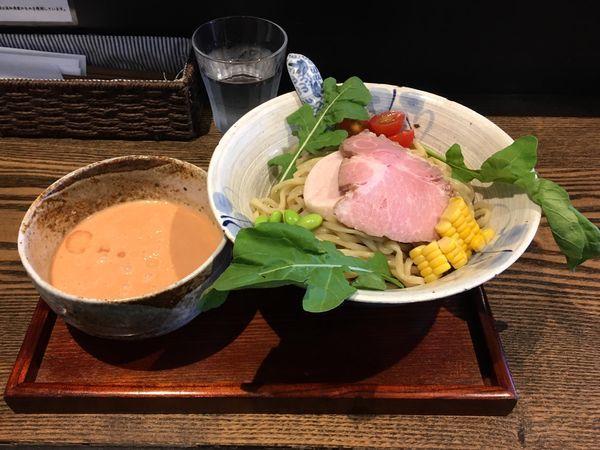 「Tsukemen 冷 とまと 大盛」@メンドコロ Kinariの写真