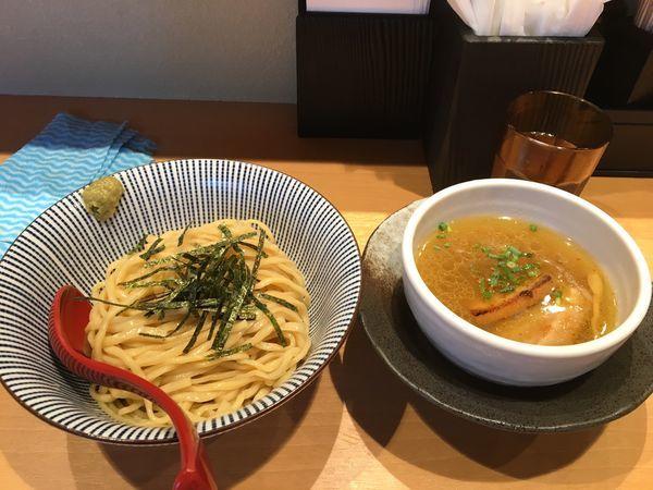 「塩つけ麺」@塩つけ麺 灯花の写真