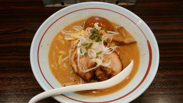 「味玉味噌らー麺¥800-」@らー麺 あけどやの写真